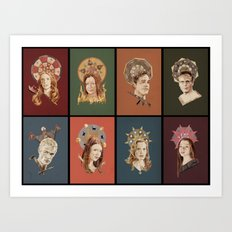 The Saints of Sunnydale  Art Print