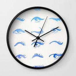 Mascara Envy – Blue Ombré Palette Wall Clock