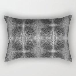 Tryptile 17 B+W (Repeating 1) Rectangular Pillow