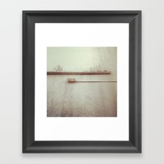 wall pipes Framed Art Print