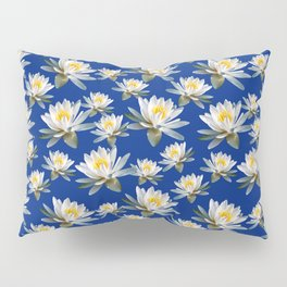 Tropical Waterlily Pillow Sham