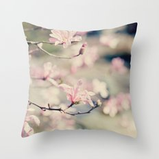 {Magnolia} Throw Pillow