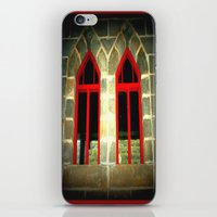 medieval iPhone & iPod Skins featuring Medieval Windows by Chris' Landscape Images & Designs