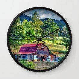 Farm Wall Clock