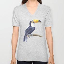 Toucan, tropical bird Unisex V-Neck