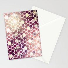 Stars Pattern #002 Stationery Cards