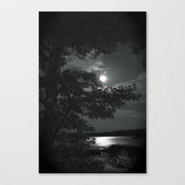 Blue Moon Canada Canvas Print