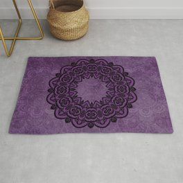 Circle in Purple Rug