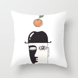 clockwork orange Throw Pillow