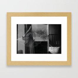 whispers. Framed Art Print