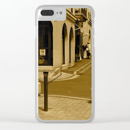 Grand Rue ~ Main Street Clear iPhone Case