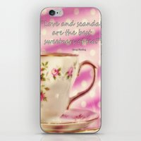 scandal iPhone & iPod Skins featuring Love and Scandal... by Karen Lewis