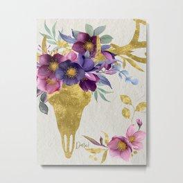 Dare! – Golden Deer Companion Metal Print