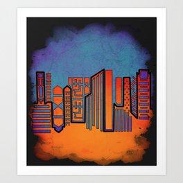 Opposing Sky Art Print