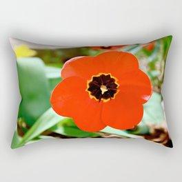 Red Portal Rectangular Pillow