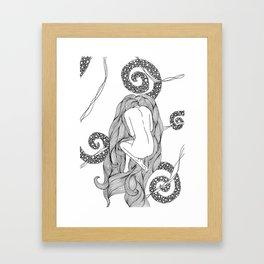 Horror Vacui. Framed Art Print