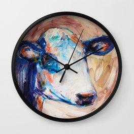 Daairy Cow Wall Clock
