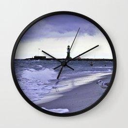 STORMY BALTIC Wall Clock