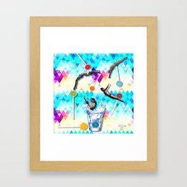 Summertime Splash Framed Art Print