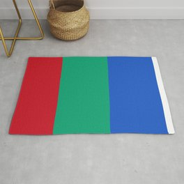 Flag of Mars - High quality authentic version Rug