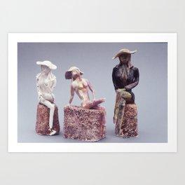 Disintegrating Ideal Art Print