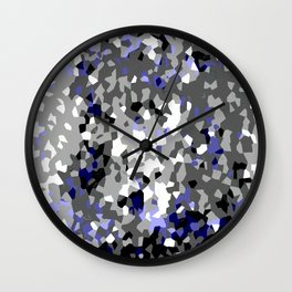 Crystallize 2 Wall Clock
