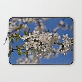 Magic White Cherry Blossom Dream Laptop Sleeve