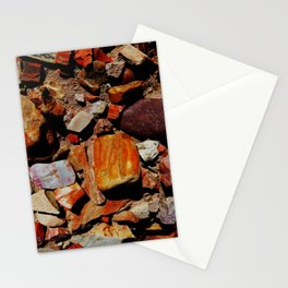 Petrified Wood of the Desert Stationery Cards