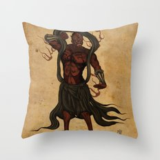 Darth A-un Throw Pillow