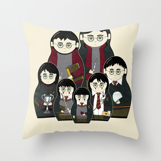 The Magic Within Throw Pillow