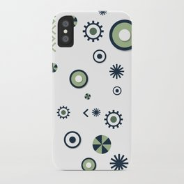 Julie pattern iPhone Case