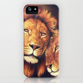Lions Soulmates iPhone Case