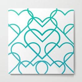 Valentine's background design #society6 #decor #buyart #artprint Metal Print