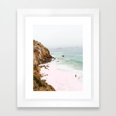Pink Trails #society6 #decor #buyart Framed Art Print