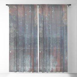 Deep Inside of You Sheer Curtain