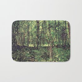 Trees and Undergrowth Bath Mat