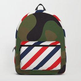 Barber Camo Pattern Backpack