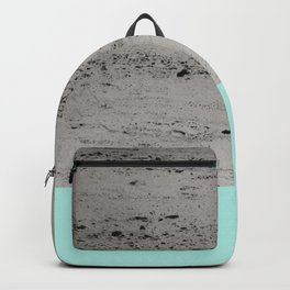 Bright Mint on Concrete #1 #decor #art #society6 Backpack