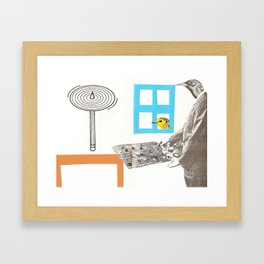 Controller Framed Art Print