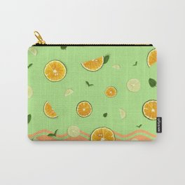 Summer Love _ Lime Orange Carry-All Pouch