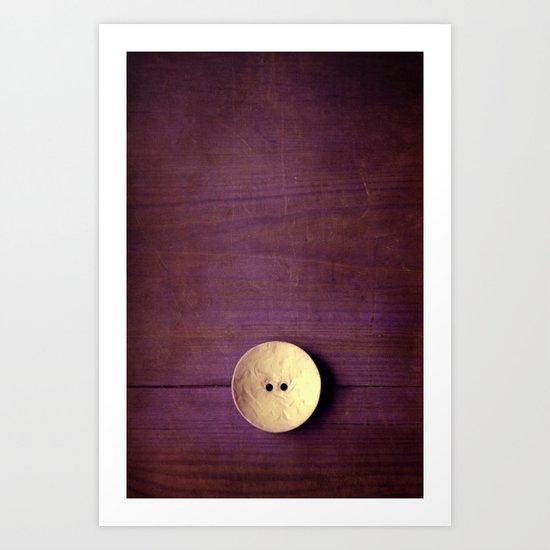 gran botón Art Print