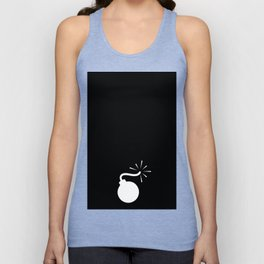 BLACK & WHITE BOMB DIGGITY Unisex Tank Top