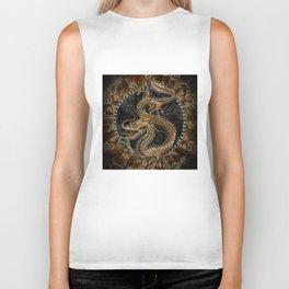 Dragon Pentagram Biker Tank