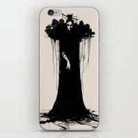 witch iPhone & iPod Skins featuring witch by Daria