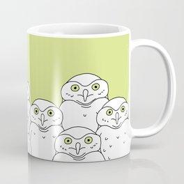 Group of Owls Coffee Mug