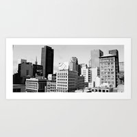 San Francisco architecture Art Print