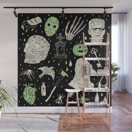 Whole Lot More Horror: BLK Ed. Wall Mural