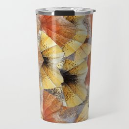 Frilled neck lizard (Chlamydosaurus kingii) Skin Design. Travel Mug