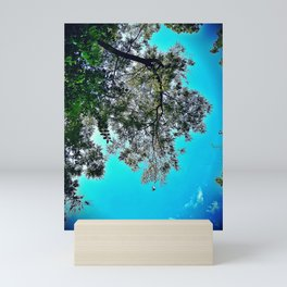 Nature Falls in Love with the Sky Mini Art Print
