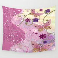 fairy tale Wall Tapestries featuring Bohemian Fairy Tale by BohemianBound